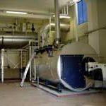 Hochdruckdampfkessel mit integriertem Economiser, 8 t/h, 13 bar, Gasfeuerung Monoblock