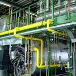 Hochdruckdampfkessel, 10 t/h, 13 bar, Gas-/Ölfeuerung Duoblock