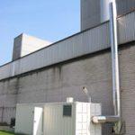 Heißwasserkessel, 1,7 MW (th) in verlängertem 20' Container