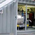 Dampfkesselanlage, Leistung 1,25 t/h in einem 20' Normcontainer