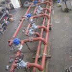 Eine komplett vorgefertigte Dampfverteilungsstationen für eine schnelle und kostengünstige Inbetriebnahme