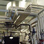 Cased boiler plant